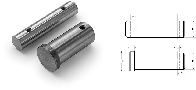clevis pin photo and diagram